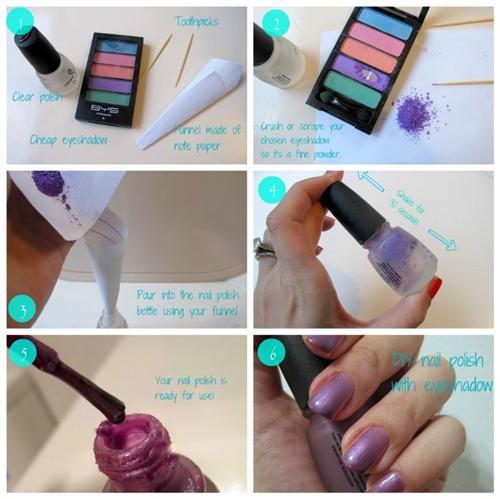 maquiagem e esmalte 1 Como fazer esmalte em casa