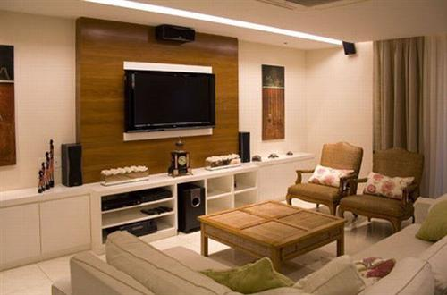 Pain is de madeira para sala fotos e modelos for Sala de estar rustica y moderna