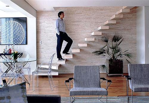 decoracao de paredes de escadas interiores:COMO USAR PEDRAS NA DECORAÇÃO DE INTERIORES