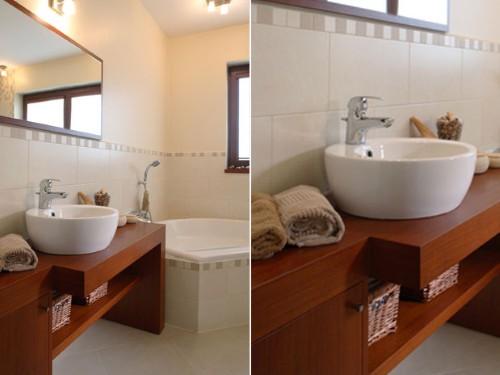 Decoração de banheiros muito pequenos -> Banheiro Pequeno Com Banheira Redonda