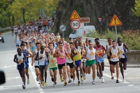 Meia maratona Noturna de Curitiba. (Foto: Divulgação).