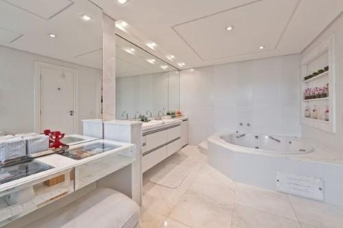 Decoração para banheiros de casal -> Banheiro Decorado Casal