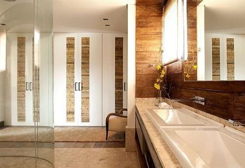 decoracao banheiro casal:banheiro do casal pode ter a decoração pensada e resolvida desde a