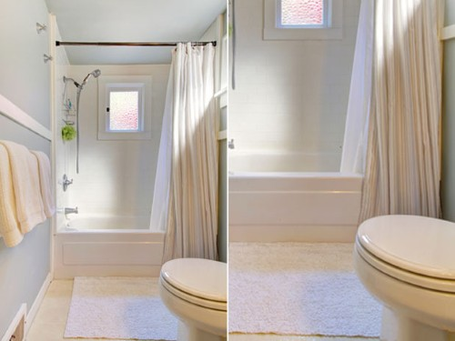 Decoração de banheiros muito pequenos -> Decoracao De Banheiro Com Banheira De Canto