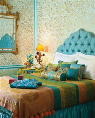 Decora o indiana para casa Gorgeous small bedroom designs for indian homes