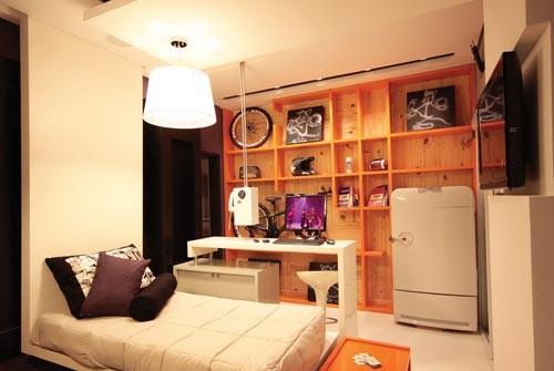 Cores De Quarto Masculino Solteiro ~ Como aproveitar melhor o espa?o do quarto (Foto Divulga??o)