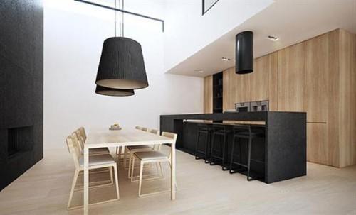 decoracao de interiores tendencias:decoração de sala de jantar e cozinha foto divulgação