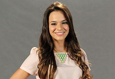 Apesar de jovem, Bruna já viveu muitas personagens na TV. (Foto: Divulgação).