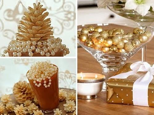 Decoração De Mesa Natal Simples E Barata