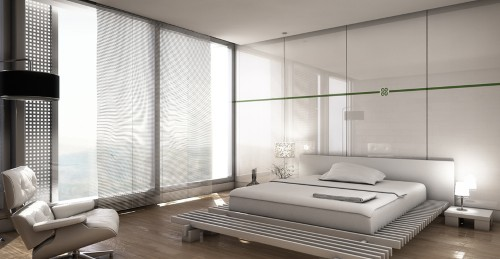 decoracao cozinha flat:Vidros e espelhos serve para ampliar ambientes pequenos de Flats. A