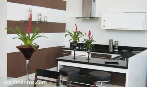 decoracao cozinha flat : decoracao cozinha flat:Decoração para flats – Dicas e Fotos