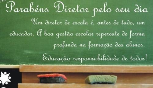DIA DO DIRETOR  Mensagens para o dia do diretor de escola