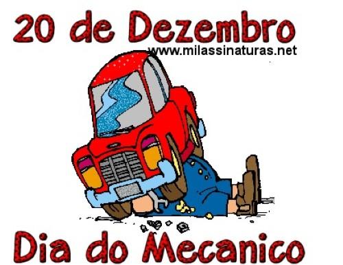 Dia do mecânico (Foto: Divulgação).