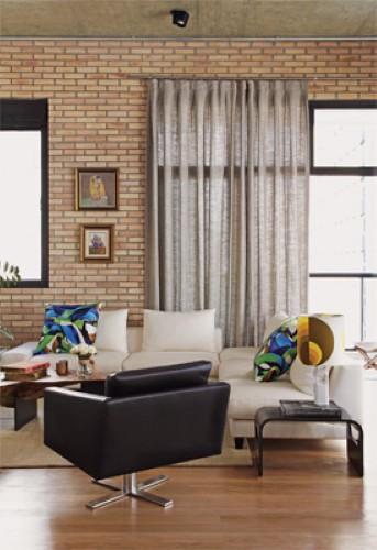 Modelo de cortina para porta e janela (Foto: Divulgação).