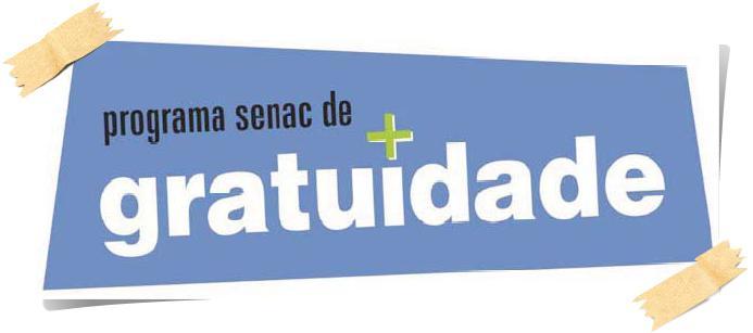 Programa Senac de Gratuidade - PSG. (Foto: Divulgação).