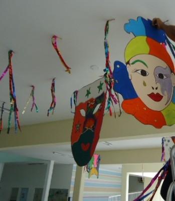 DECORAÇÃO DE CARNAVAL Decoração para carnaval na escola