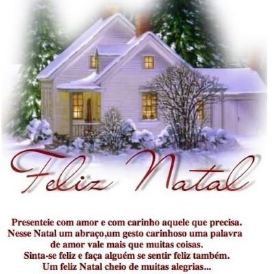 MENSAGENS NATAL Mensagens de Feliz Natal para família e amigos