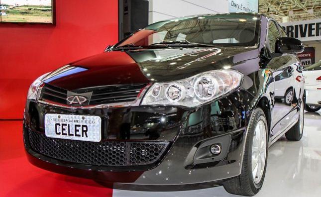 Chery Celer no Brasil (Foto: IG carros divulgação)
