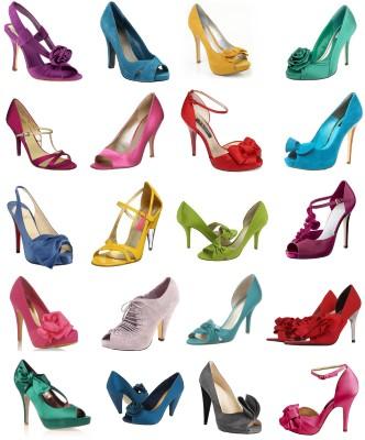 Modelos de sapatos coloridos para noivas  (Foto:Divulgação).