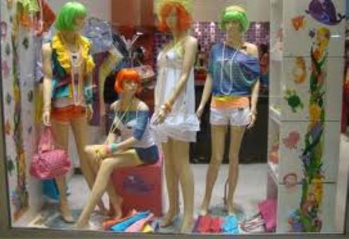 Vitrine para loja de roupa (Foto:Divulgação)