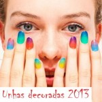 fotos de unhas decoradas 2013