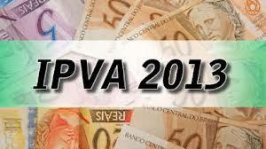 IPVA 2013 RJ. (Foto: Divulgação).