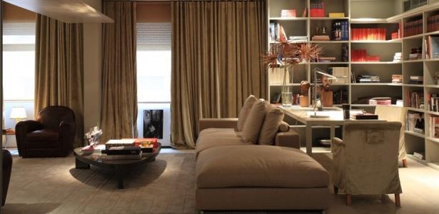 Fotos De Sala De Tv Com Escritorio ~ No caso de sala de jantar e sala de TV integradas, deixe que a