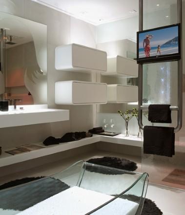 Banheiro moderno  (Foto:Divulgação)