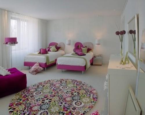 Decoração para quarto de meninas Gêmeas ~ Quarto Planejado Para Duas Irmas
