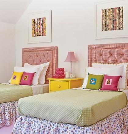 dicas de decoração para quarto de irmãs gêmeas
