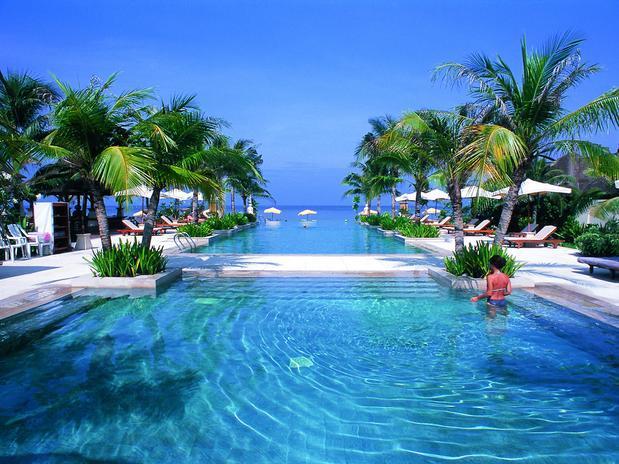 Hotel romântico e paradisíaco na Tailândia. (Foto: Divulgação).