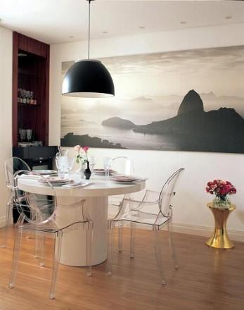 Sala de jantar moderna (Foto:Divulgação)