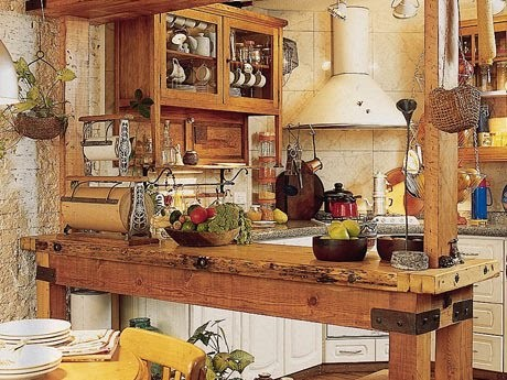 Decora o caipira para cozinha - Casas decoracion rustica ...