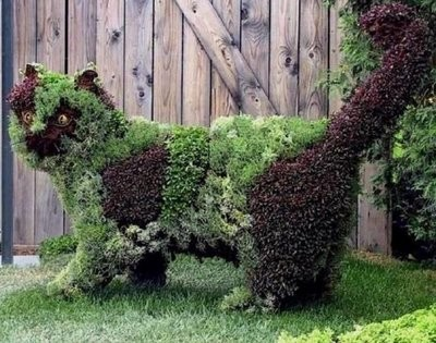 Esculturas  de jardim  (Foto:Divulgação)