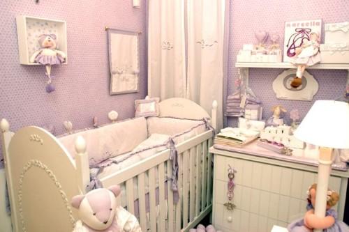 Decoração para quarto infantil pequeno
