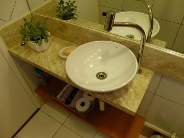 Como escolher a melhor cuba para o banheiro -> Cuba De Apoio Para Banheiro Eternit Mileto