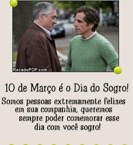 Mensagens para o sogro (Foto:Divulgação)