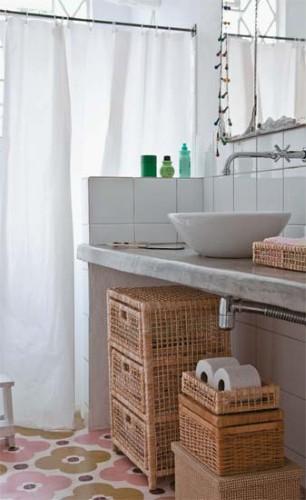 kitnet decoracao fotos : kitnet decoracao fotos:Decoração de banheiro (Foto:Divulgação)