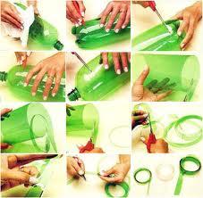 Curso gratuito de reciclagem com garrafa pet