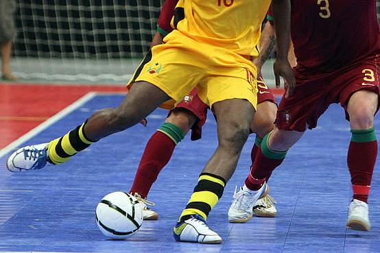 Conheça as novas regras para as partidas de futsal. (Foto: Divulgação).