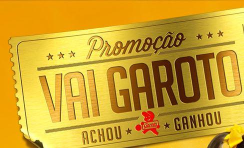 Promoção Vai Garoto (Foto: Facebook/divulgação)