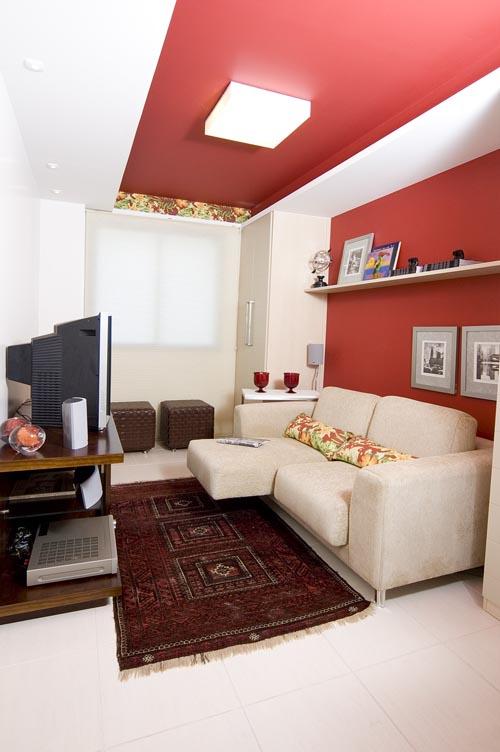 Como combinar o tapete com o estilo da sala for Sala de estar tapete