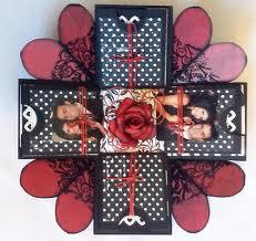 Caixas decoradas Dia dos Namorados