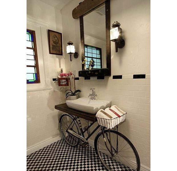 Ideias para decorar banheiro com material reciclado -> Como Fazer Armario De Banheiro Reciclado