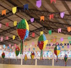Decoração Festa Junina com tema Copa