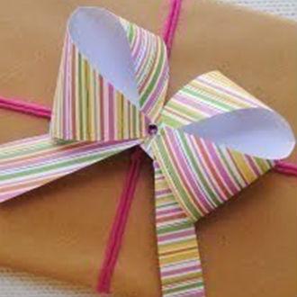 Como fazer um laço de papel simples