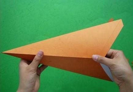Estrela de papel decorada passo a passo 6