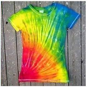 Como dar efeito colorido nas roupas passo a passo