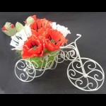 Bicicleta de arame para decoração passo a passo
