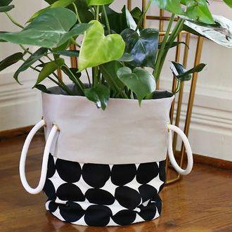 Capa para vaso de plantas